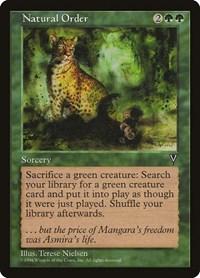 Natural Order, Magic: The Gathering, Visions