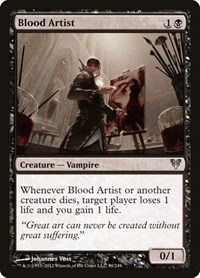 Blood Artist, Magic, Avacyn Restored