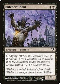 Butcher Ghoul, Magic: The Gathering, Avacyn Restored