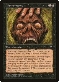 Necromancy, Magic: The Gathering, Visions