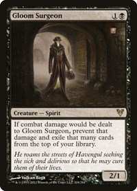 Gloom Surgeon, Magic: The Gathering, Avacyn Restored