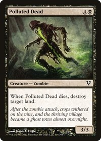 Polluted Dead, Magic, Avacyn Restored