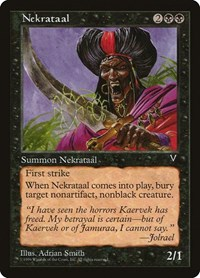 Nekrataal, Magic: The Gathering, Visions