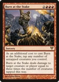 Burn at the Stake, Magic: The Gathering, Avacyn Restored