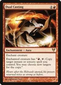 Dual Casting, Magic: The Gathering, Avacyn Restored