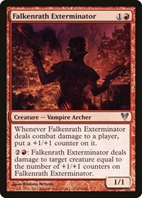 Falkenrath Exterminator, Magic: The Gathering, Avacyn Restored