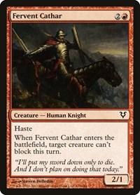 Fervent Cathar, Magic: The Gathering, Avacyn Restored