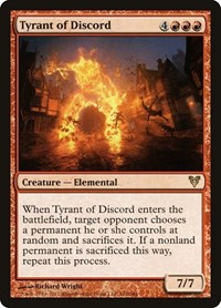 Tyrant of Discord, Magic: The Gathering, Avacyn Restored