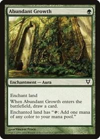 Abundant Growth, Magic: The Gathering, Avacyn Restored