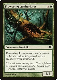 Flowering Lumberknot, Magic: The Gathering, Avacyn Restored