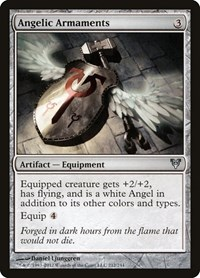 Angelic Armaments, Magic: The Gathering, Avacyn Restored