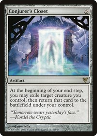 Conjurer's Closet, Magic: The Gathering, Avacyn Restored