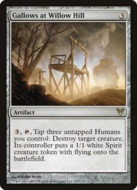 Gallows at Willow Hill, Magic: The Gathering, Avacyn Restored