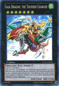 Gaia Dragon, the Thunder Charger, YuGiOh, Galactic Overlord