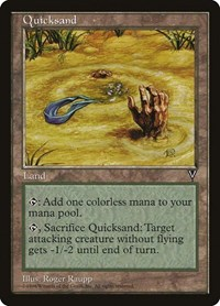 Quicksand, Magic: The Gathering, Visions