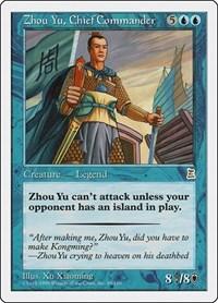 Zhou Yu, Chief Commander, Magic, Portal Three Kingdoms