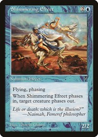 Shimmering Efreet, Magic: The Gathering, Visions