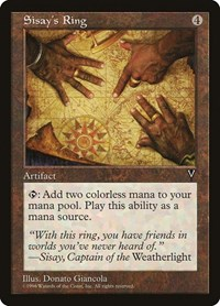 Sisay's Ring, Magic: The Gathering, Visions