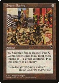 Snake Basket, Magic: The Gathering, Visions