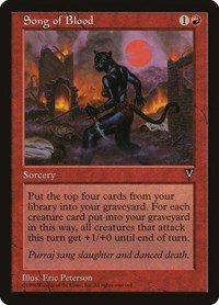 Song of Blood, Magic: The Gathering, Visions