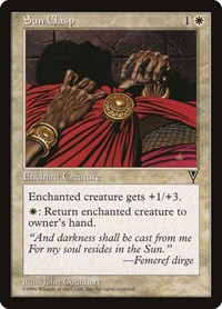 Sun Clasp, Magic: The Gathering, Visions