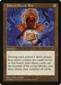 Teferi's Puzzle Box, Magic: The Gathering, Visions