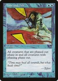 Time and Tide, Magic: The Gathering, Visions