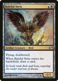 Baleful Strix, Magic: The Gathering, Planechase 2012