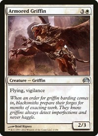 Armored Griffin, Magic: The Gathering, Planechase 2012
