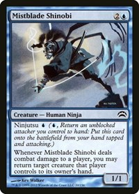 Mistblade Shinobi, Magic: The Gathering, Planechase 2012
