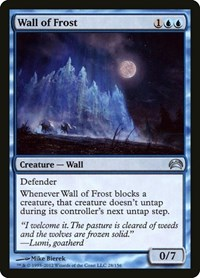 Wall of Frost, Magic, Planechase 2012