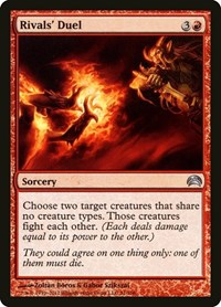 Rivals' Duel, Magic: The Gathering, Planechase 2012
