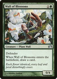 Wall of Blossoms, Magic, Planechase 2012