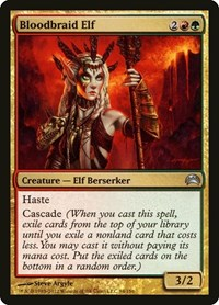 Bloodbraid Elf, Magic: The Gathering, Planechase 2012