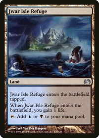 Jwar Isle Refuge, Magic: The Gathering, Planechase 2012