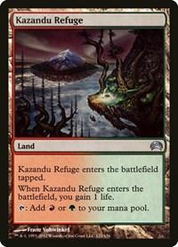 Kazandu Refuge, Magic: The Gathering, Planechase 2012