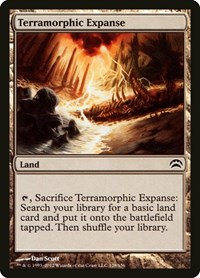 Terramorphic Expanse, Magic: The Gathering, Planechase 2012
