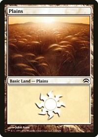 Plains (132), Magic: The Gathering, Planechase 2012