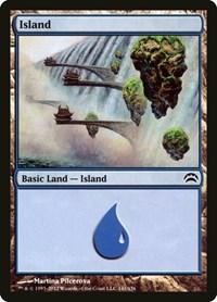 Island (141), Magic: The Gathering, Planechase 2012