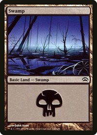 Swamp (142), Magic: The Gathering, Planechase 2012