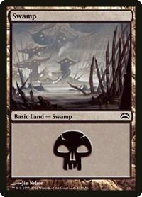 Swamp (143), Magic: The Gathering, Planechase 2012