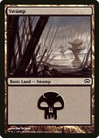 Swamp (144), Magic: The Gathering, Planechase 2012