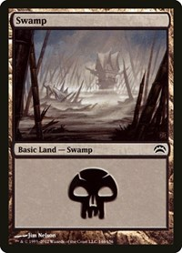 Swamp (146), Magic: The Gathering, Planechase 2012