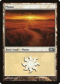 Plains (230), Magic: The Gathering, Magic 2013 (M13)