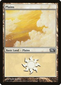 Plains (231), Magic: The Gathering, Magic 2013 (M13)