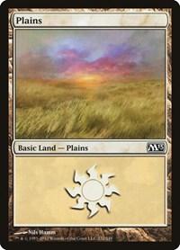 Plains (232), Magic: The Gathering, Magic 2013 (M13)