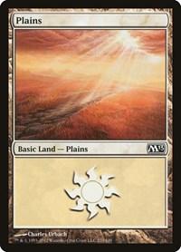 Plains (233), Magic: The Gathering, Magic 2013 (M13)