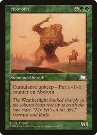 Aboroth, Magic: The Gathering, Weatherlight