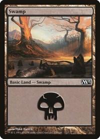 Swamp (239), Magic: The Gathering, Magic 2013 (M13)