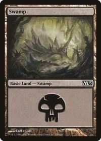 Swamp (240), Magic: The Gathering, Magic 2013 (M13)